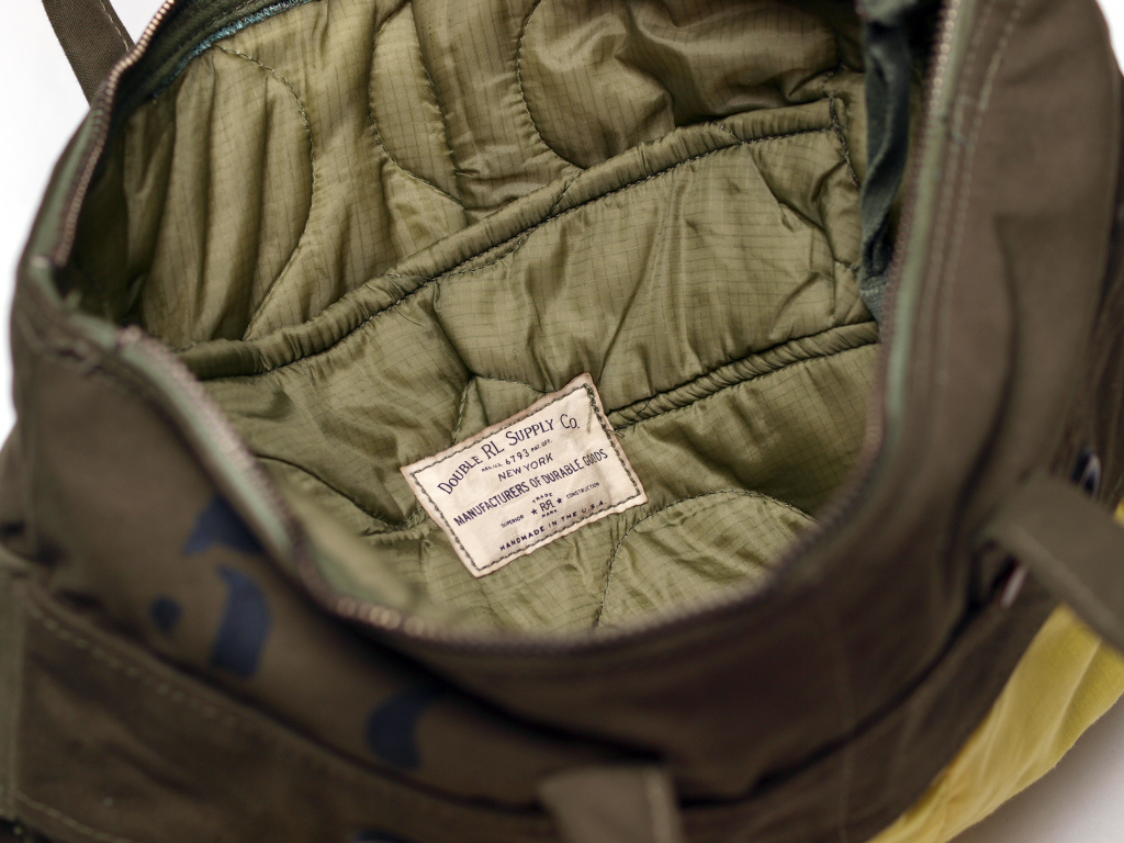 RRL / Vintage Military Helmet Bag