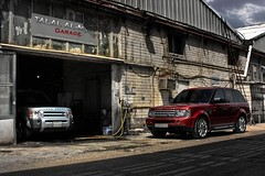 My Garage (Talal Al-Mtn) Tags: red 3 cars sport truck disco garage engine rr rover only land p kuwait suv landrover discovery range rangerover v8 lr  talal v6 q8 rovers lr3 rrs mygarage my shwaikh rangesport almtn talalalmtn   rangeroverinkuwait talalalmtngarage landroversonlyp landroverinkuwait