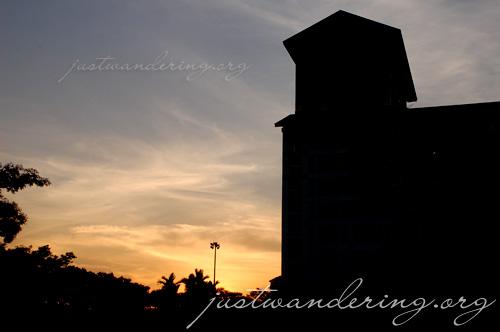 Bishan sunset