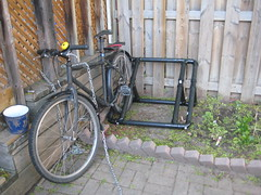 hack hacks bikerack pvc