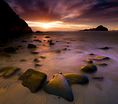 Big Sur - Pfieffer Beach (kevin mcneal) Tags: ocean california longexposure sunset beach bravo bigsur pfeiffer abigfave goldnbluepolarizer