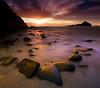 Big Sur - Pfieffer Beach (kevin mcneal) Tags: ocean california longexposure sunset beach bravo bigsur pfeiffer abigfave goldnbluepolarizer