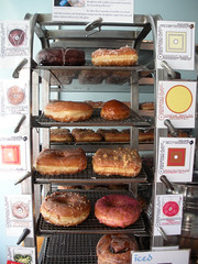 Donuts at the Donut Plant (chrisjbarker) Tags: new york city nyc lowereastside illustrations bakery donuts donutplanet