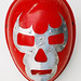 red luchador mask by Lockwasher