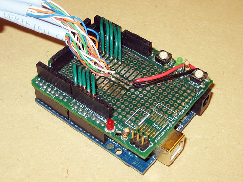 LED Serial Strip Driver Shield