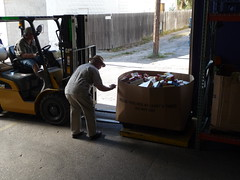Aweigh we go...! (Barefoot In Florida) Tags: scales foodbank lettercarriersfooddrive stpetersburgfreeclinic