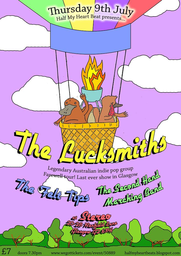 The Lucksmiths poster