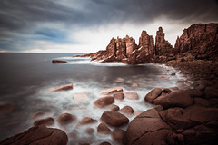 prendimi (sadaiche (Peter Franc)) Tags: longexposure sea sky misty landscape freedom ancient rocks waves stones philipisland victoria pinnacles capewoolamai allevi daarklands andnoitsnotahdr