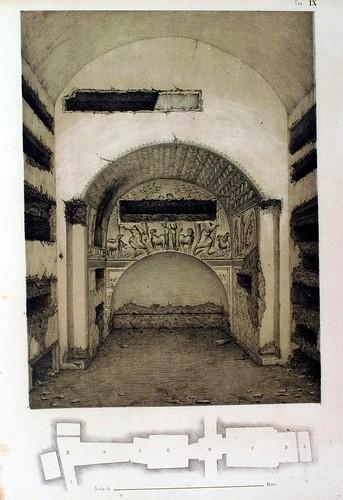 017-Arcosolio-La Roma sotterranea cristiana - © Universitätsbibliothek Heidelberg