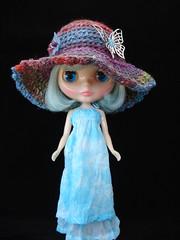 Glastonbury Gown and Happy Hippie Hat