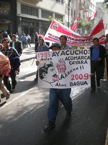 Ayacucho Accomarca Cayara. Ahora Bagua 2009 por ALTERNATIVA PRENSA.