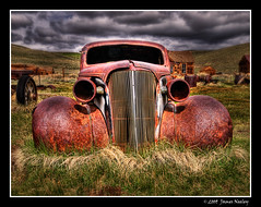 """Here's Looking at You"" - A Tutorial - Working a Subject (James Neeley) Tags: california landscape decay bodie oldcar hdr 5xp jamesneeley mountainhighworkshops"