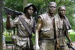 Washington DC: Vietnam Veteran's Memorial - The Three Soldiers (wallyg) Tags: sculpture statue washingtondc dc districtofcolumbia memorial nps landmark vietnam nationalmall dcist vietnammemorial nationalparkservice warmemorial vietnamveteransmemorial memorialpark constitutiongardens vietnamwarmemorial vietnamwar nationalmemorial nationalregisterofhistoricplaces threeservicemen frederickhart nrhp usnationalparkservice thethreesoldiers thethreeservicemen nationalmallandmemorialpark aia150 threesoldiers usnationalregisterofhistoricplaces nmem nationalmallmemorialparks usnationalmemorials