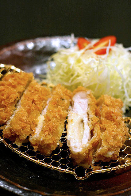 Cheesu Rosu - breaded pork loin with cheese