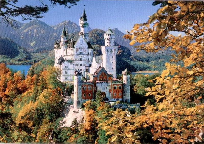 Royal Castle, Neuschwanstein, Germany
