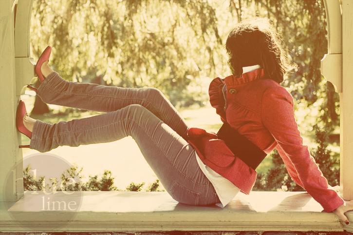 [pink heels]