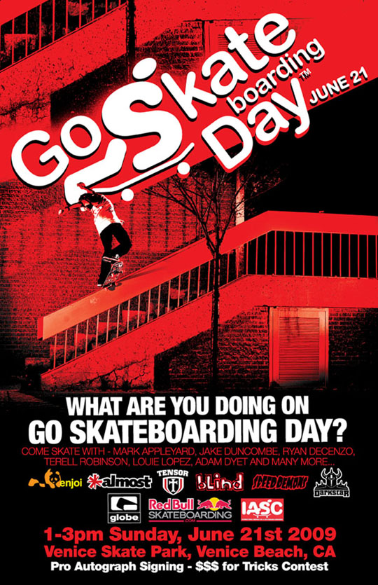 Go Skate Boarding Day