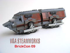 Vehicle for Brick Con 09 Zombie Apocafest (V&A Steamworks) Tags: road brick for alley lego zombie 09 va vehicle warrior steamworks con damnation steampunk landmaster brickcon apocafest