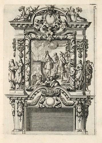 006-Livre d'architecture d'autels, et de cheminees- Barbet Jean-1633- © Institut national d'histoire de l'art