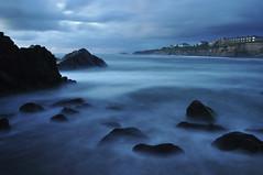 A Few Moments in Time (Gigapic) Tags: ocean beach water night clouds oregon landscape nikon long exposure waves nikkor d90 karmapotd karmapotw herowinner ultraherowinner