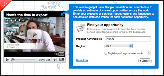 Google Export Advisor -1