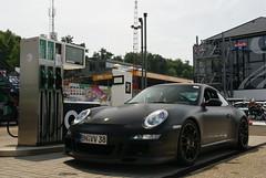 Porsche 997 GT3 RS (simons.jasper) Tags: road summer color beautiful car racecar belgie sony fast special porsche jaguar circuit rs simons a100 digest supercars zolder 997 specialcolor matzwart autogespot spotswagens