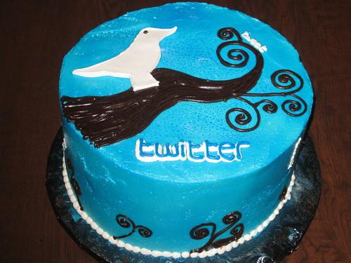 Twitter me Cake