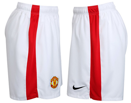 Manchester United 2009/10 home shorts