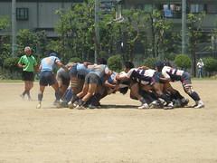 2009-06-28 練習試合 : スクラム