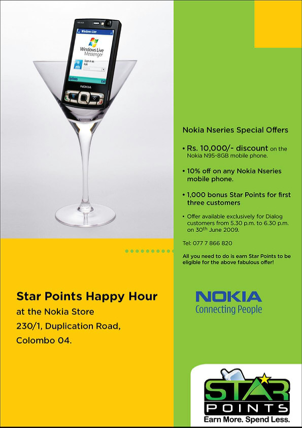 Happy Hour At Nokia Store