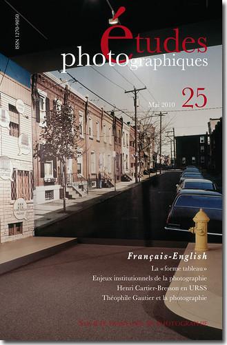"""Parution """"Etudes photographiques"""" n°25"""