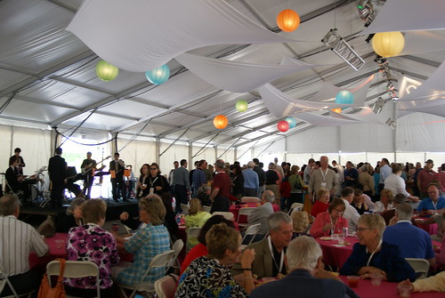 Party tent, Sunday Brunch