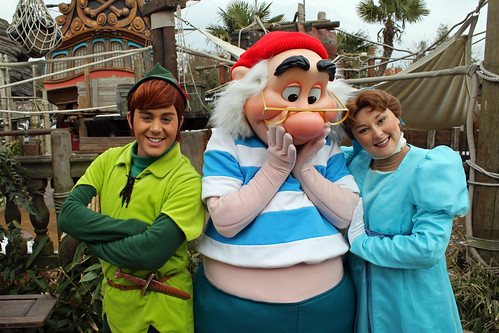 Peter Pan, Smee and Wendy