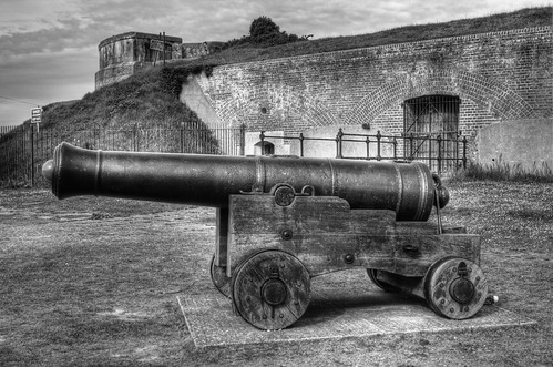 No. 2 Battery, Interpretation Centre, Stokes Bay, Gosport, Cannon
