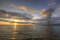 Lukoml Lake Sunset