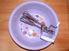 Using an Eggbeater from MontHome.com