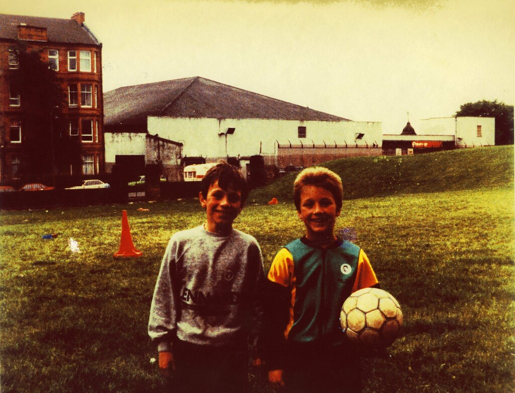 Football pitches, Whitehill Street, 1988