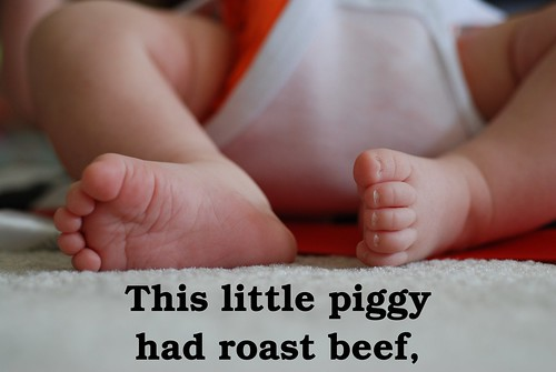 This little piggy had roast beef