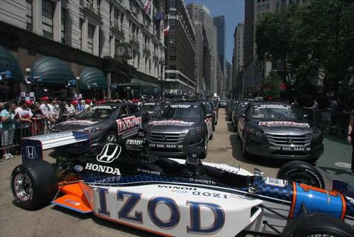 1 IndyCar and 33 Honda's
