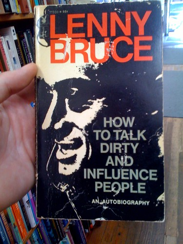 lenny bruce is not afraid