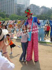 _Stilt_Walking_Clown (asiamagic20yr1) Tags: