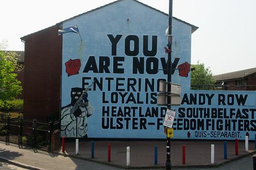 Belfast Murals - Sandy Row