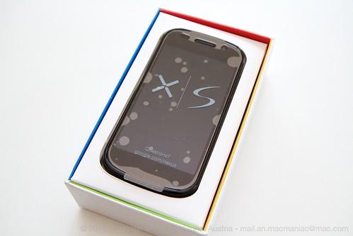 Nexus S in Verpackung