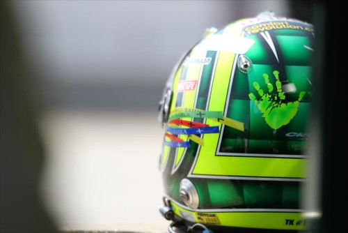 Helmet designs are a great way to see a driver's personality