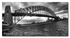 Stormy Harbour Bridge