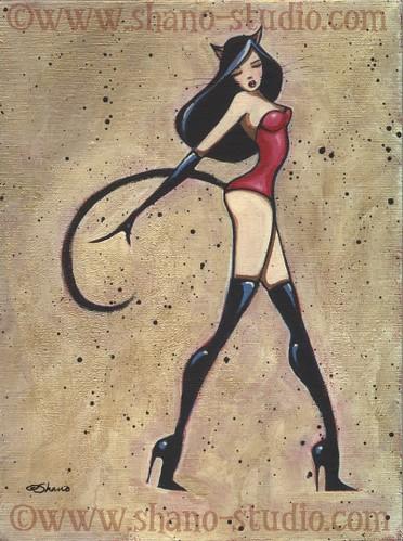 Flirty Catwoman