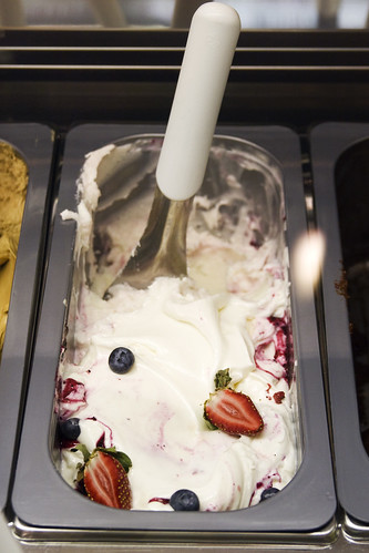 yogurt gelato, so good