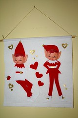 Vintage-style Pixie Banner (amy_buthod) Tags: shop hearts gnome heart kitsch valentine retro pixie elf valentines inventory amy1971
