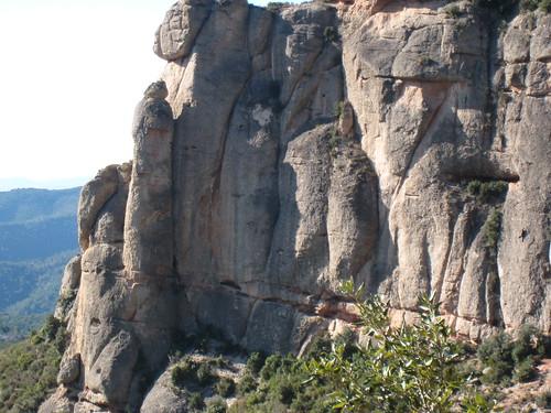 A lone climber