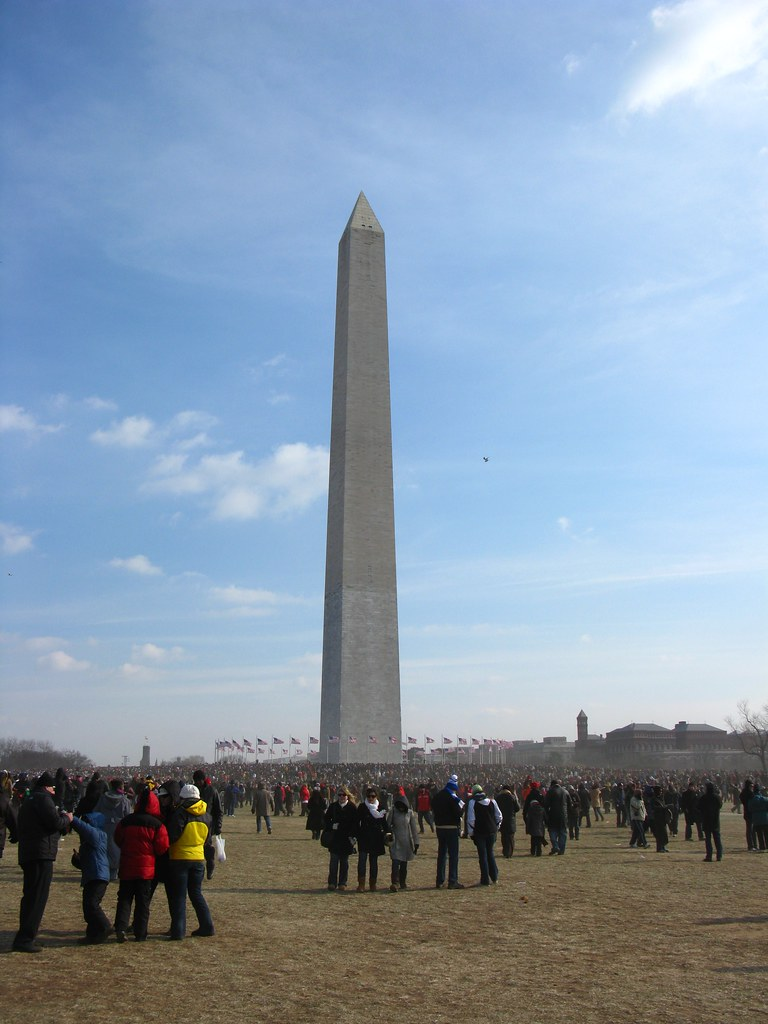2009 01 20 - 0650 - Washington DC - Washington Monument